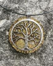 orgonit, citrín, strom života, orognitový šperk, sowulo, šperk, energie