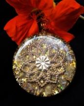 orgonitový šperk, sowulo, energie, šperky, orgonite,citrín, orgonit, mandala