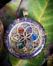 orognitový šperk, sowulo, orgonit, energie, šperk, orgone, orgonity, semeno života