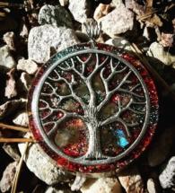 orognitový šperk, sowulo, orgonit, energie, šperk, orgone, orgonity,labradorit, strom života