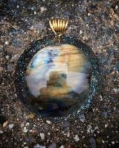 orognitový šperk, sowulo, orgonit, energie, šperk, orgone, orgonity,orgonit, šperky,labradorit