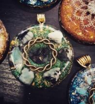 orognitový šperk, sowulo, orgonit, energie, šperk, orgone, orgonity,orgonit,smaragd