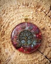 orognitový šperk, sowulo, orgonit, energie, šperk, orgone, orgonity,orgonit,, symbol,strom života, labradorit