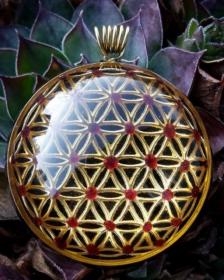 sowulo, orgonit, orgonitový šperk, květina života, symbol, orgone, orgonitový, orgonitovy sperk, šperk