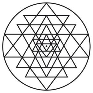 sri yantra, energie, posvátná geometri, sowulo, orgonit, orgonitový šperk, orgonite, orgone, orgonity