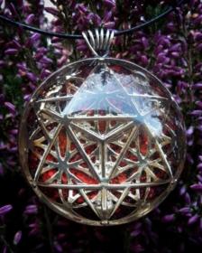 orgonit, orgonitový šperk, sri yantra, srí jantra, posvátná geometry, symbol, granát, energie, sowulo, šperky, náhrdelníky, alternativa, alternativní, léčivý, merkaba, ezoterický