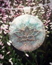 sowulo, avanturín, orgonit, orgonitový šperk, šperky, energie, alternativní, květ, symbol sowulo